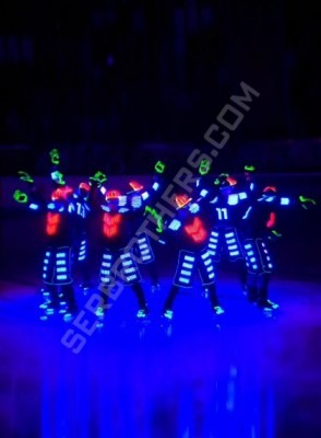 LED ice hockey