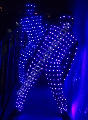 pixel LED suit