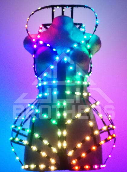 Smart LED Corset 1